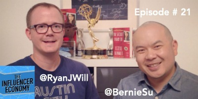 Ryan Williams and Bernie Su chat Lizzie Bennet Diaries