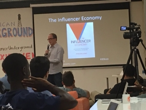 Ryan Teaching The Influencer Economy