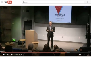 Ryan Williams Author Talk at Google on Influence and Collaboration