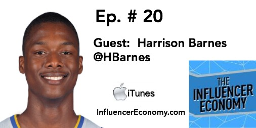 Harrison Barnes, NBA baller and tech thinker on the Influencer Economy